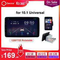 Ownice 1 din 2 din 1280*720 Rotation DSP 360 Panorama 4G LTE SPDIF Universal Android 9.0 K3 K5 k6 Auto-Radio-player GPS Navi