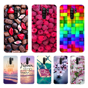 Case For Xiaomi Redmi Note 8 Pro Cover Soft Silicone Funda for Xiaomi Redmi 9 Case Redmi Note 9S TPU Phone Case Redmi Note 8T
