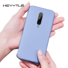 Heyytle Silicone Soft Case For OnePlus 7 Pro Luxury Slim Shockproof One Plus Candy Colors Full Cover Coque