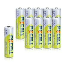 Pilas AA PKCELL Ni MH de 2300mAh 2600mAh, 1,2 V, batería recargable AA NiMh, 2A, para linternas, cámara, juguetes, 10 Uds.