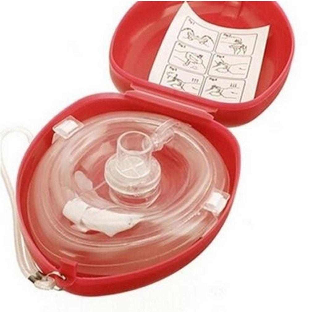 CPR Mask Respirator Mask Hard Case Shield First Aid Emergency Respirator Resuscitation Face Respirator Mask
