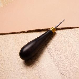 Image 5 - Hoge Kwaliteit Goede Stiksels Priem Met Diamant Lade Lederen Houten Handvat Diamant Priem Gereedschap Staal Lederen Craft Stiksels Naaien