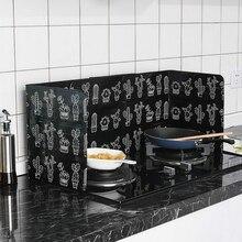 Бытовой масло для кухни перегородка доска для кухни анти-брызг масло перегородка алюминиевая фольга поставки