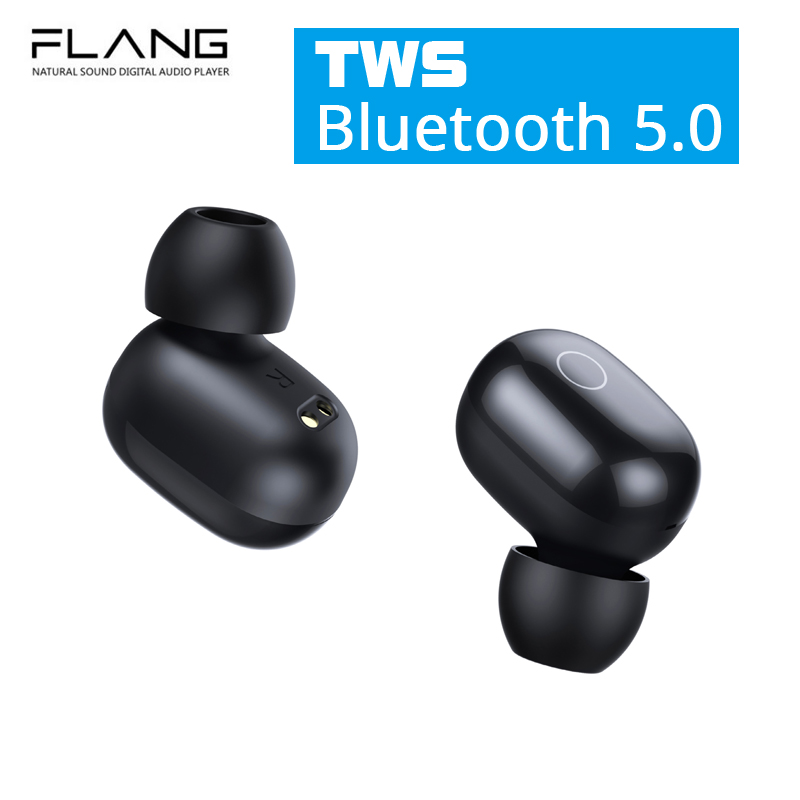 FLANG <font><b>S2</b></font> <font><b>TWS</b></font> Earphone Touch <font><b>Wireless</b></font> Bluetooth 5.0 Mini <font><b>Earbuds</b></font> Mic Charging Box Sport Stereo Gaming Headset For Smart Phone IEM image