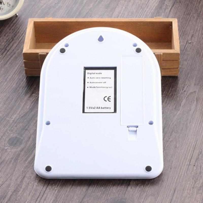 Портативные цифровые весы 1/5/10 кг, 1 г, электронные ЖК-весы, кухонные весы из стали, почтовые пищевые весы, измерительные весы, весы-5