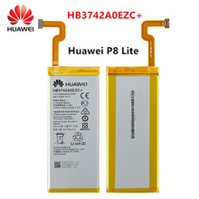 Hua Wei 100% Orginal HB3742A0EZC+ 2200mAh Battery For Huawei Ascend P8 Lite HB3742A0EZC+ Replacement Batteries недорого