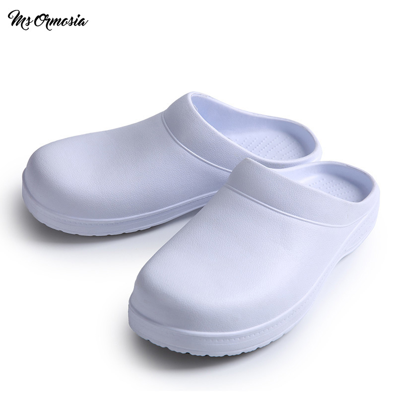 MSORMOSIA Medical Surgical Shoes Nursing Clogs Working Room Cleaning EVA Shoes Medical Slippers Laboratory Non-slip Nurses Shoe