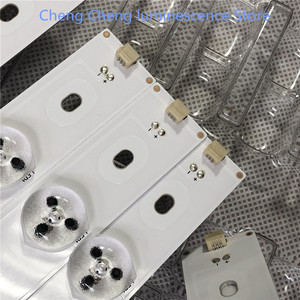 Image 4 - 11Pieces/lot 493mm 3V  5leds For Hisense 50 TV E257384 SVH500A24 5LED Rev06 140303 T500HVN07.1 HD500DF B54 LTDN50K220WSD NEW