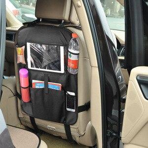 Image 2 - אוניברסלי רב כיס רכב אחסון מושב אחורי ארגונית מחזיק נוח עמיד למים נסיעות תיק Stowing לסדר אביזרי רכב