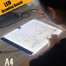 Pad Table Diamond-Painting Led-Light Tracing Ultra-Thin A4 Embroidery-Tools Drawing-Board