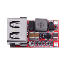 1PCS DC 6-24V To 5V 3A Mini USB Output Charger Step Down Power Module DC-DC Adjustable Buck Converter Non-isolated Buck Module