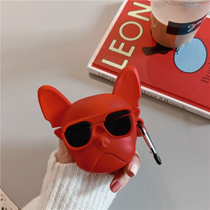 Image 5 - Funny Bulldog Case For Apple Airpods Pro Cover Silicone Cute Cartoon Earphone Protective Cases Charging Box For Air pods Pro 3