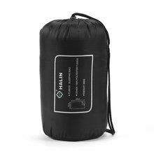 Открытый теплый уютный спальный мешок из флиса без шляпы на молнии спальный мешок лайнер с Сумка для хранения HS202