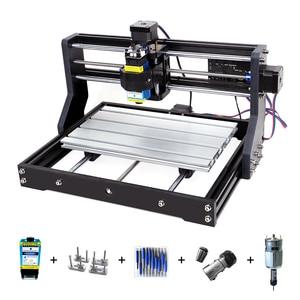 Image 1 - CNC 3018Pro graveur Laser 3 axes fraisage Laser Machine de gravure pour Sculpture bois routeur Support hors ligne Laser Cutter 0.5 15W