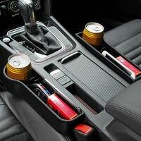 Nova chegada do assento de carro lacuna fenda bolso coletor organizador automático caixa armazenamento telefone garrafa copos caixa titular para carros acessórios automóveis