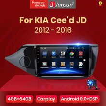 Junsun V1pro 4G + 64G CarPlay Android 10 DSP para KIA Cee 'd CEED JD 2012-2016 auto Radio Multimedia reproductor de vídeo Navi GPS 2 din dvd