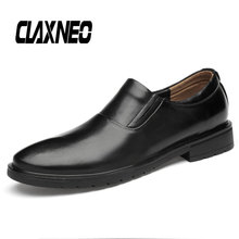 CLAXNEO Man Moccasins Leather Male Loafers Casual Shoes Genuine Mens Boat Shoe Breathable Soft
