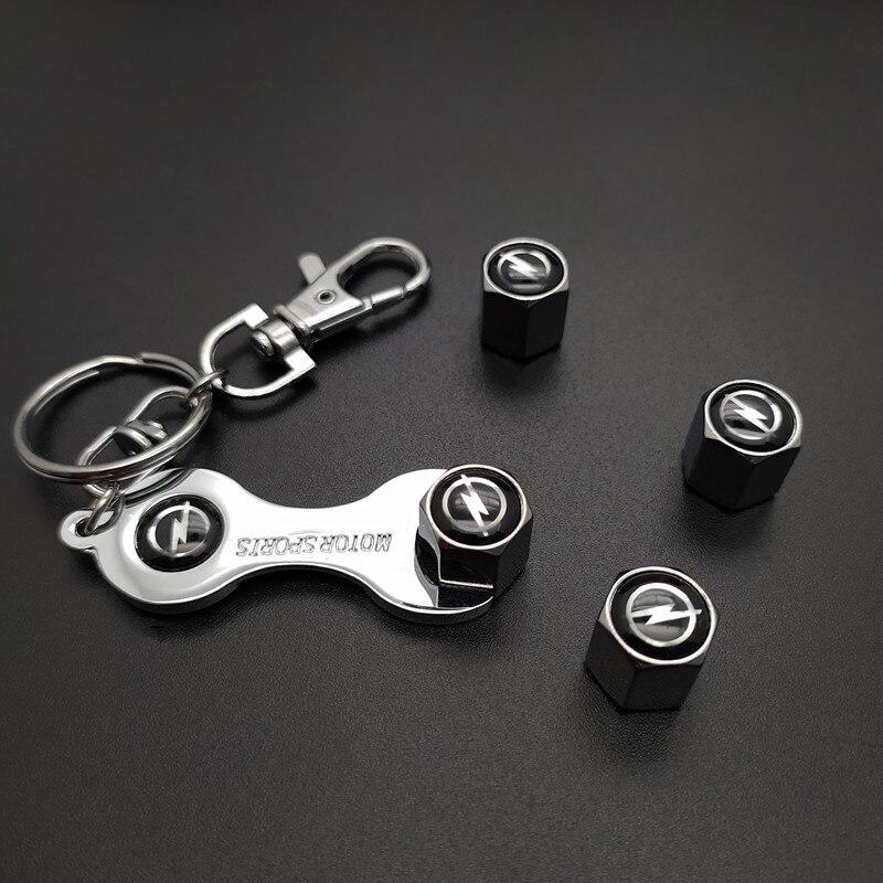 New Metal Wheel Tire Valve Caps Stem Case For Opel Honda Toyota Audi Bmw Kia Mercedes-Benz Ford Nissan Renault Car Accessories