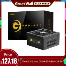 Grote Muur Atx Voeding 650W 12V 24 Pin Computer Stroombron 140Mm Mute Fan Gaming 80 plus Goud Psu Unit Pc Voeding