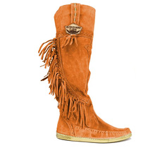 boots women faux suede tassels mid calf shoes vintage warm winter booties  fashion 2019 luxury designers c54