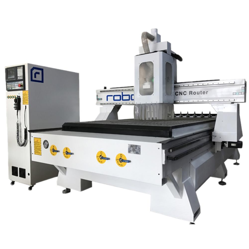 1325 Atc Cnc Router Auto Tool Changer WEIHONG China Cnc Milling Machine Manufacturer With Rotary Device For Wood Cylinder Table