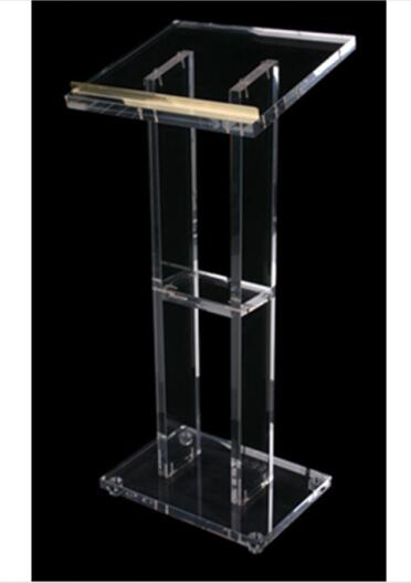 Transparent Lucite Chruch Podium Acrylic Lectern Pmma Pulpit Modern Acrylic Lectern Podium Pulpit Plexiglass
