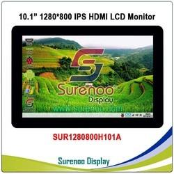 10.1 10.1 inch 1024*600 1280*800 HDMI LCD Module Display Monitor IPS Scherm met USB Capacitieve touch Panel voor Raspberry Pi
