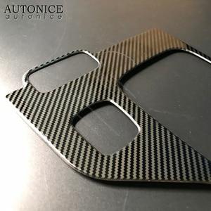 1 шт., панель из углеродного волокна для Ford Ranger аксессуары 2015, 2016, 2017, 2018, 2019, 2020