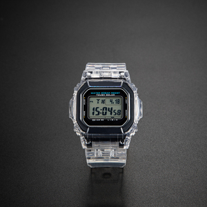 Image 4 - Набор прозрачных часов DW5600/5610/6900, водонепроницаемый резиновый ремешок, спортивный ремешок, Безель