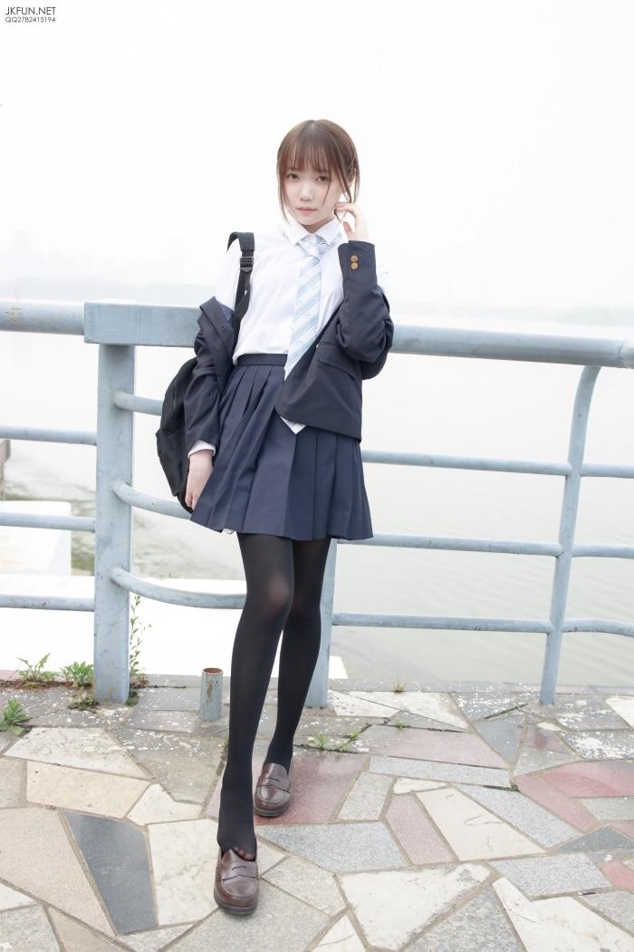 ★森萝财团★– JKFUN-006 Aika 日系黑丝 [140P/1V/2.90GB]插图2