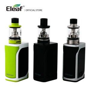 Image 4 - [RU/ES] Originale Eleaf iStick Kiya Kit Con GS Juni Costruito in 1600mAh VS iStick Tria 0.75/1.5ohm GS Air Coil Sigaretta Elettronica