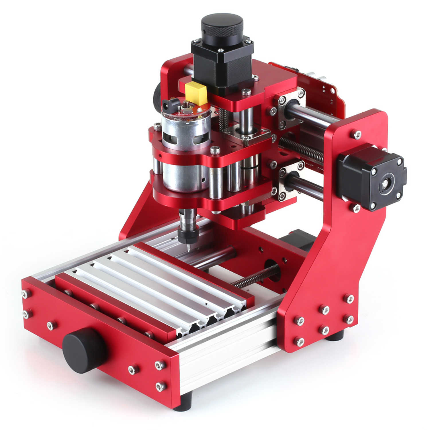 Engraver Laser Machine Engraver with ER11 Collet Mini CNC Router 1310 CNC Metal Engraving Milling Machine Kit PCB Wood Milling