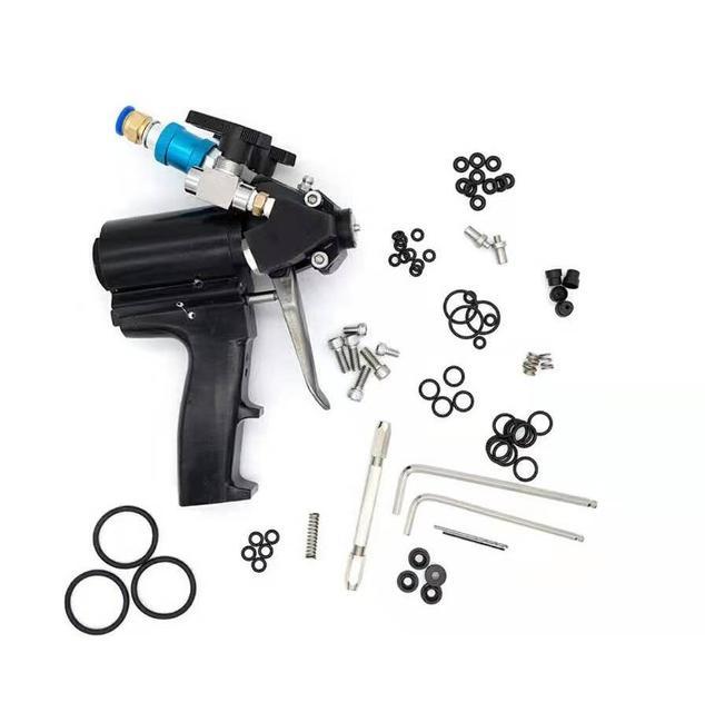 2019 neue tragbare Polyurethan PU Schaum spritzpistole P2 Luftspülung Spray Gun