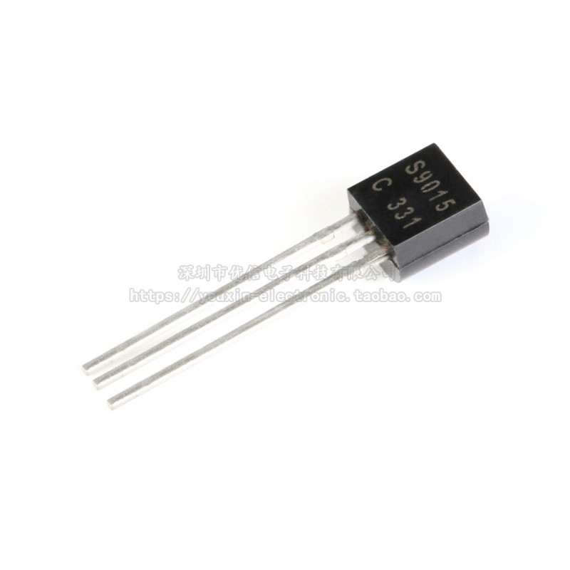100pcs New S9015 TO-92 Inline Triode