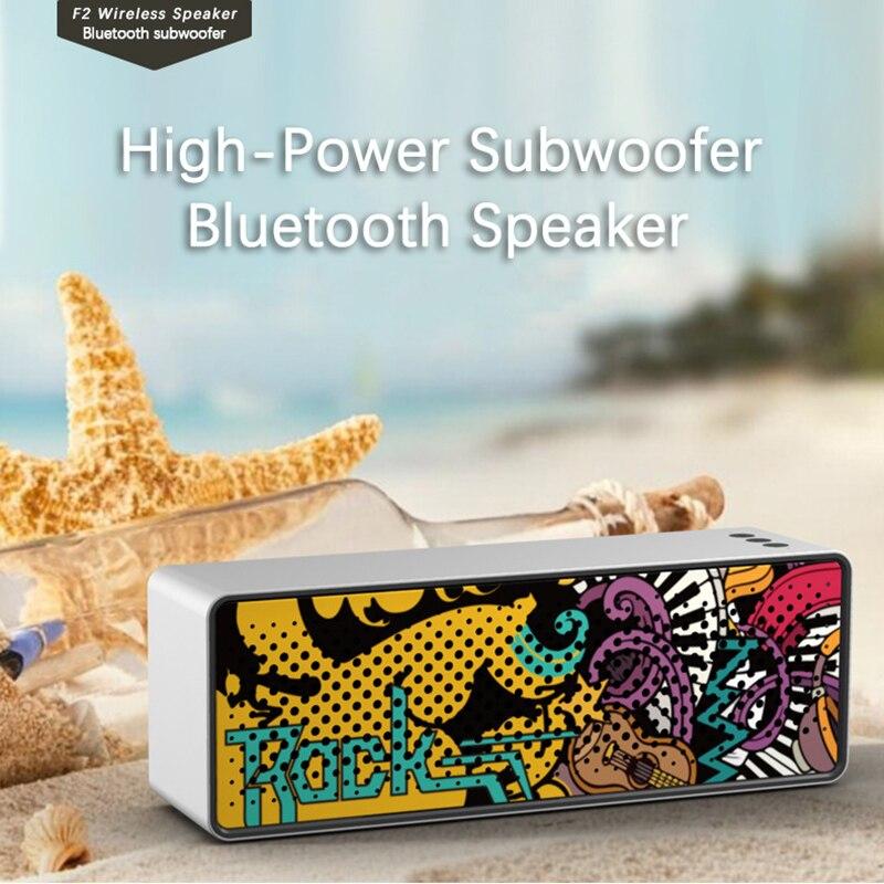 Alto-falante portátil de bluetooth 5.0 alto-falante estéreo tws 10m faixa de bluetooth festa ao ar livre sem fio com usb tf aux intput