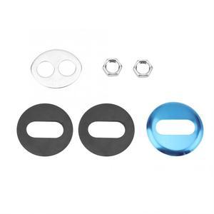 Image 5 - חדש סגנון כפול חור כיור ברז ברז שתיית מים מסנן מטבח ברז עם 2 ידיות כרום הפוך אוסמוזה ברז כלים