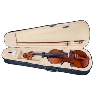 Image 2 - ナオミ音響バイオリン 4/4 フルサイズバイオリンいじる弓ケースブリッジナツメの木のアクセサリー
