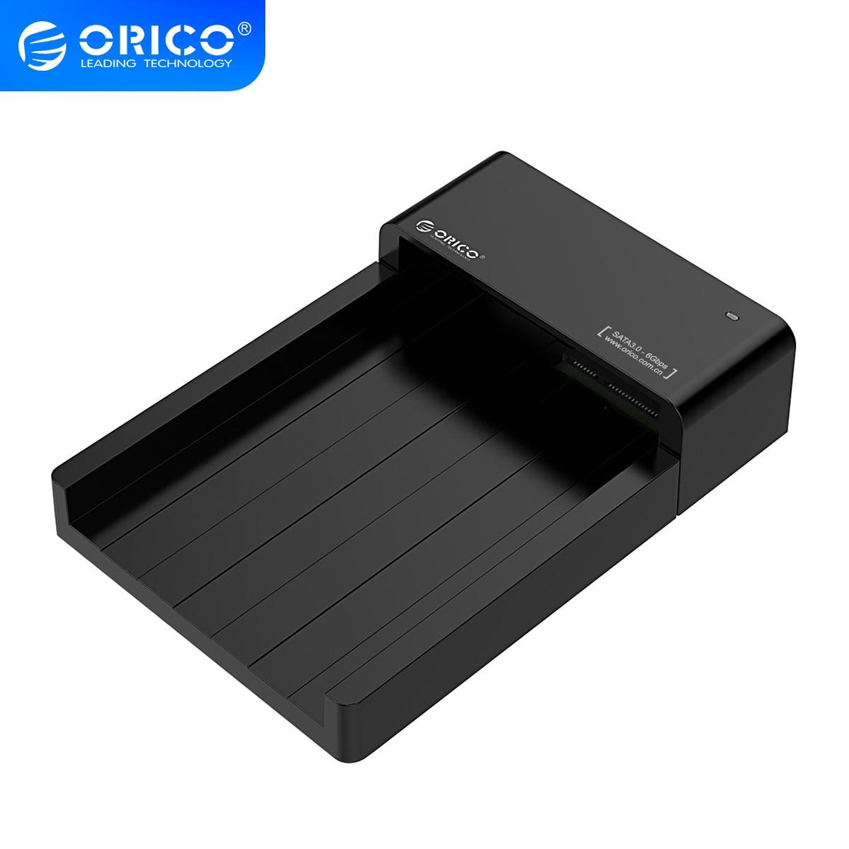ORICO 3,5 дюймов HDD Caddy SATA Тип USB B ESATA внешний корпус SSD до 8 ТБ, док-станция для жесткого диска для ноутбука, не требует применения инструментов