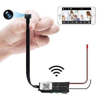 Mini kamera Wifi Full HD 4K bezprzewodowa kamera noktowizyjna kamera Micro Mini tajna kamera mała Mini kamera internetowa Wifi kamera IP tanie i dobre opinie YIKIXI CN (pochodzenie) 1080 p (full hd) NONE Microsd tf CMOS
