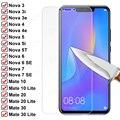 9H закаленное стекло для Huawei Mate 10 20 30 Lite Nova 3 3i 3e защита экрана на Nova 5 5T 5i 4 4e 6 7 SE Защитная стеклянная пленка