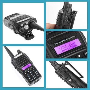 Image 3 - Bộ Đàm BaoFeng UV 82 2 Băng Tần 136 174Mhz (VHF) 400 520Mhz (UHF) 5W 2 Chiều Đài Phát Thanh Cầm Tay Máy Bộ Đàm