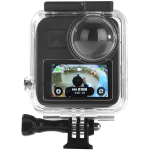 Waterproof Housing Case for Gopro Max Camera, Underwater Diving Protective Cover Shell 30M with Bracket Action Camera Accessorie