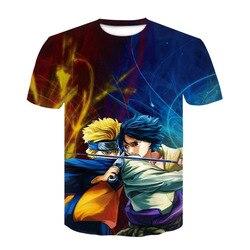 Nowy 2020 Aikooki 3D Naruto t koszula mężczyźni/kobiety moda Streetwear Hip Hop Harajuku 3D drukuj Naruto męska koszulka ubrania góry 2