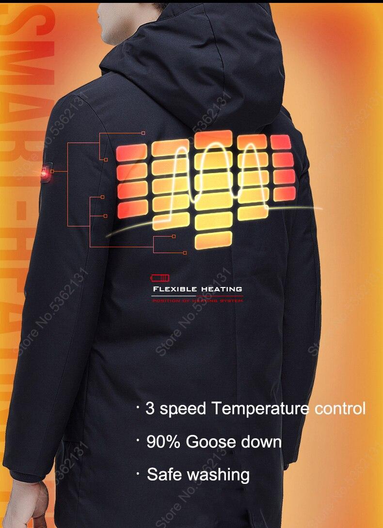 usb infravermelho aquecimento elétrico ganso para baixo