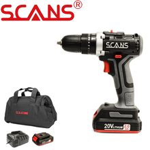 SCANS SC3180 Professional Tool 20V Cordless Electric Impact Screwdriver Impact Drill