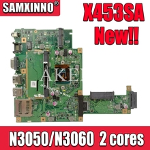X453SA Laptop Motherboard For Asus X453S X453SA X453 F453S Mainboard  test 100% OK N3050 2 cores