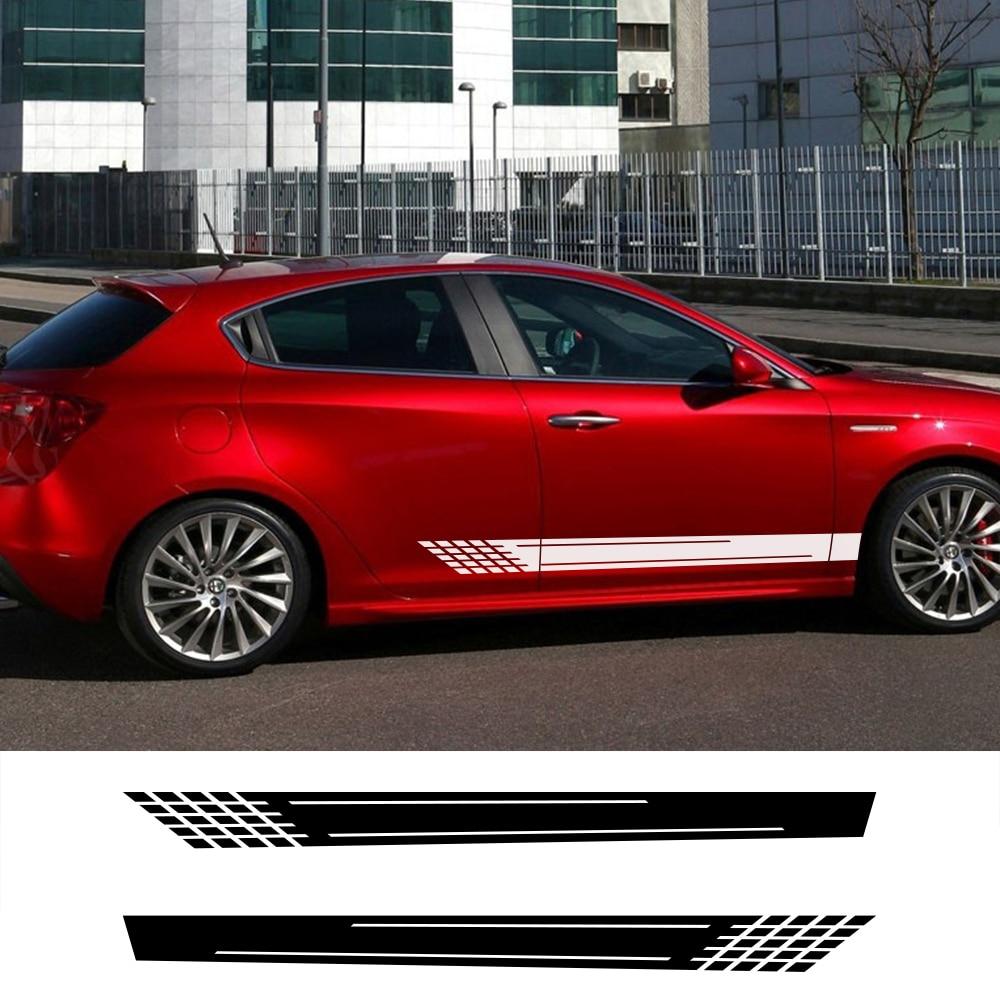 Car Side Stickers For Volkswagen VW Audi Ford BMW Toyota Peugeot Mercedes Renault Opel Chevrolet Honda Citroen Car Accessories