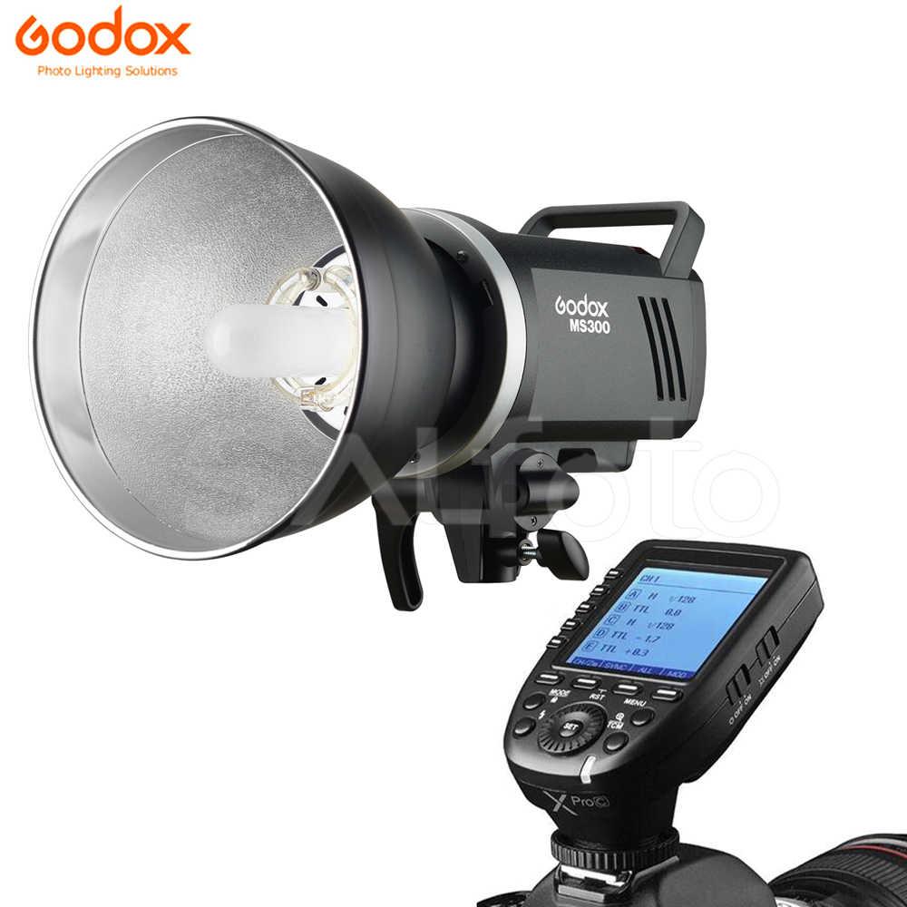 Godox MS300 Studio Flash with Godox X2T-S 2.4G Wireless Flash Trigger Transmitter