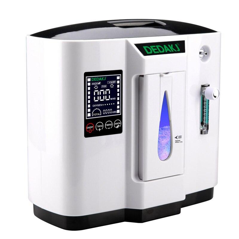DDT-1A 6L Medizinische sauerstoff konzentrator generator sauerstoff, der maschine sauerstoff erzeugenden maschine display Sprache Englisch 1pc