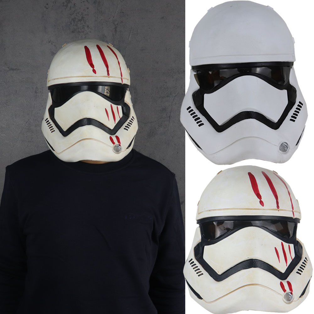 Snailify Star Wars 2019 Imperial Stormtrooper Mask Kylo Ren Mask The Rise Of Skywalker Latex Helmet Halloween Mask For Adult